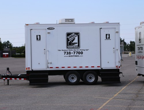 16 Foot Restroom Trailer