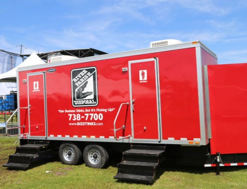 20 Foot Restroom Trailer