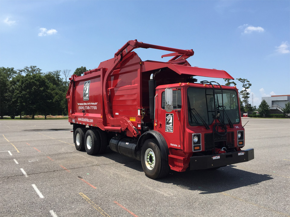 Garbage Truck Front Loading